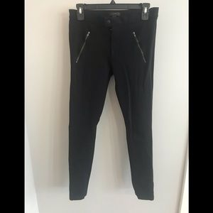 J. Crew Ponte Pant with Zippered Pockets